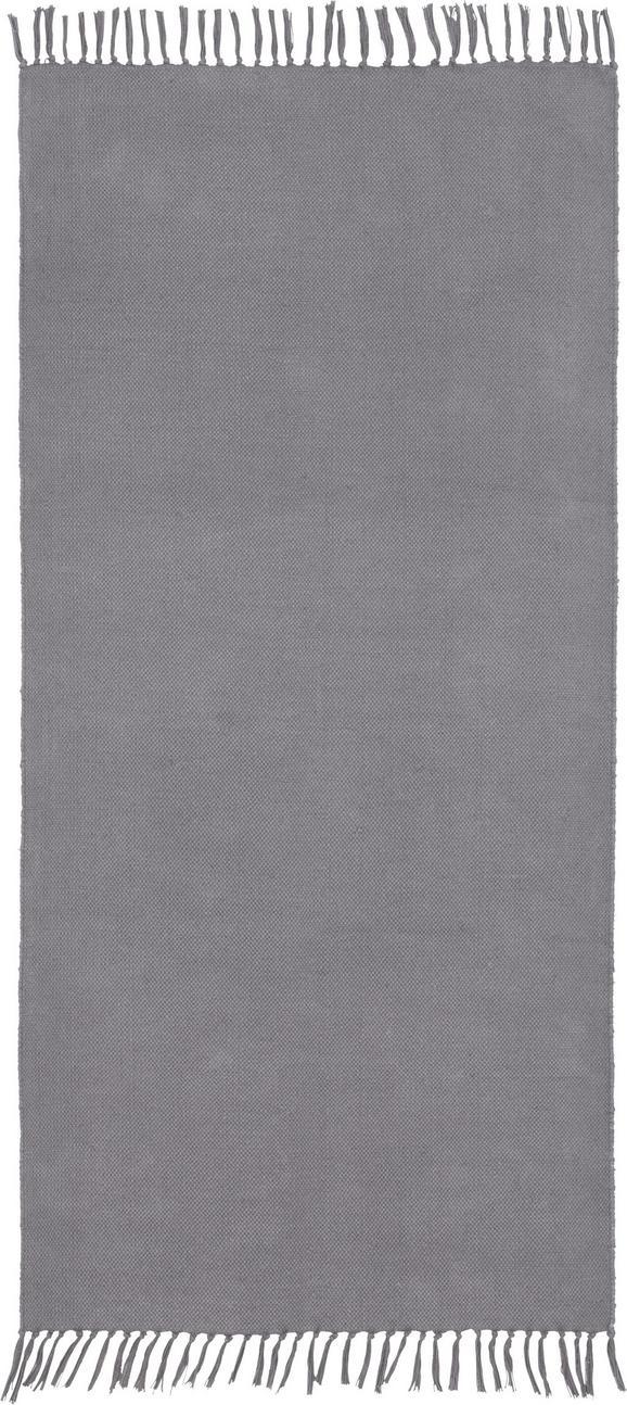 Handwebteppich Rodeo 70x140 cm - Grau, Textil (70/140cm) - MÖMAX modern living