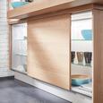 Einbauküche Touch in Steingrau NB - Alufarben/Grau, MODERN, Holzwerkstoff (270/177,5cm) - Nobilia