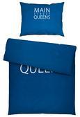 Bettwäsche Mainstrett Blau 140x200cm - Blau, KONVENTIONELL, Textil (140/200cm) - Mömax modern living