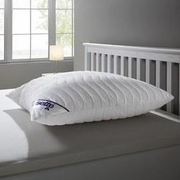 Kopfkissen Irisette ca.80x80 cm - Weiß, MODERN, Textil (80/80cm) - Irisette