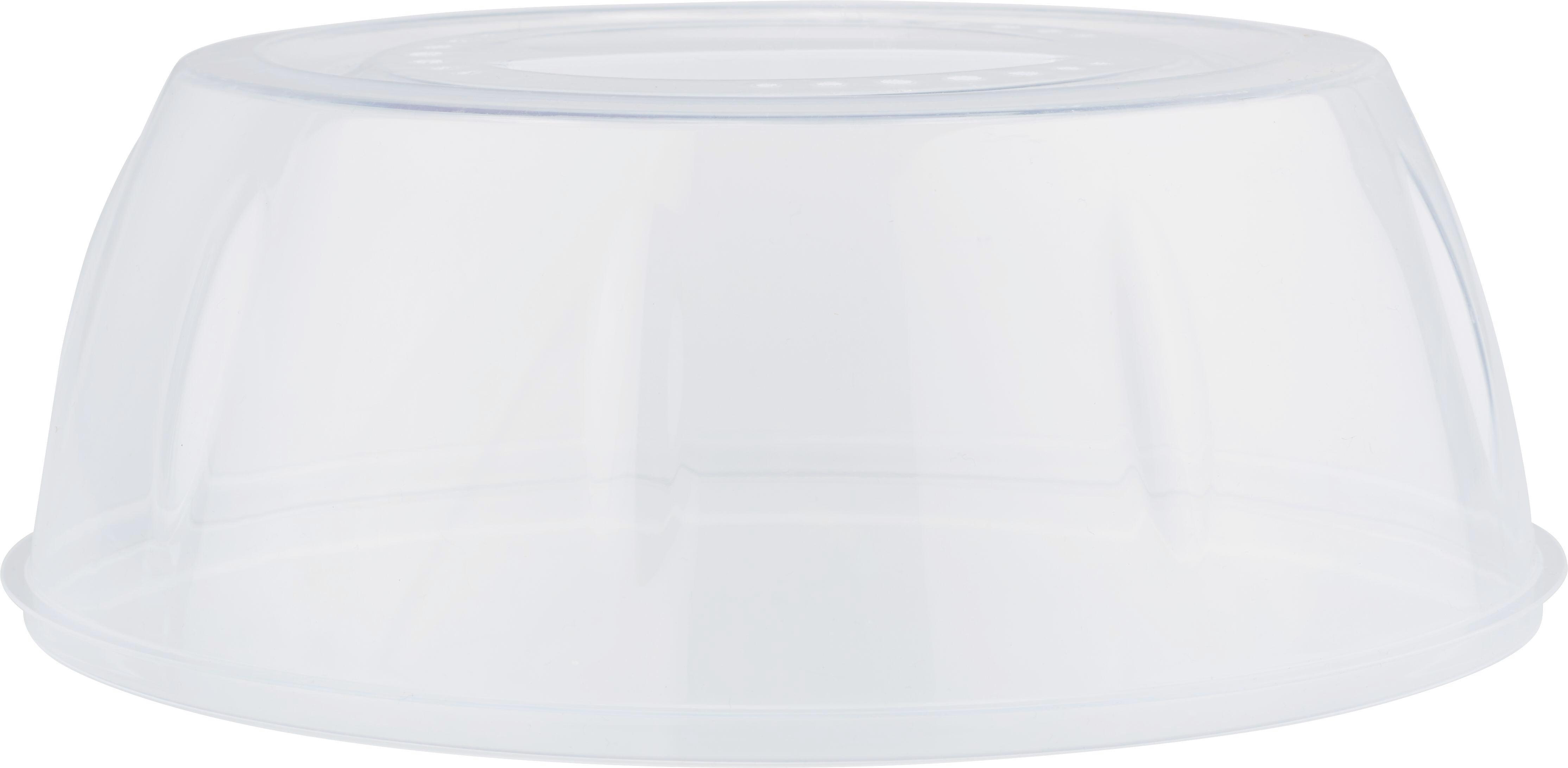 Mikrowellendeckel Leopold aus Kunststoff - Klar, Kunststoff (27/10cm) - MÖMAX modern living