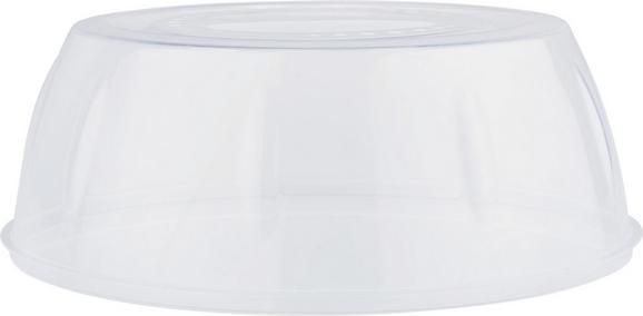 Pokrov Mikrovalovne Pečice Leopold - prozorna, umetna masa (27/10cm) - Mömax modern living