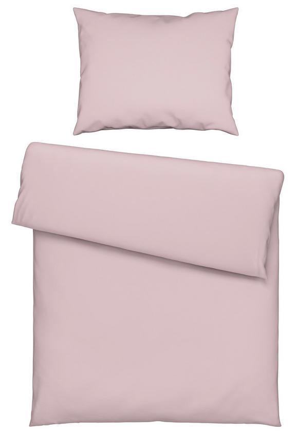 Lenjerie De Pat Iris -ext- - Roz, Material textil (140/200cm) - Mömax modern living
