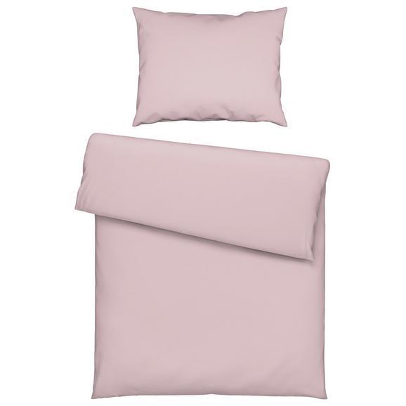 Lenjerie De Pat Iris - Roz, Material textil (140/200cm) - Mömax modern living