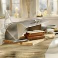 Cutie Pentru Pâine Brenda - culoare natur/transparentă, plastic/lemn (30/16,5/39cm) - Modern Living