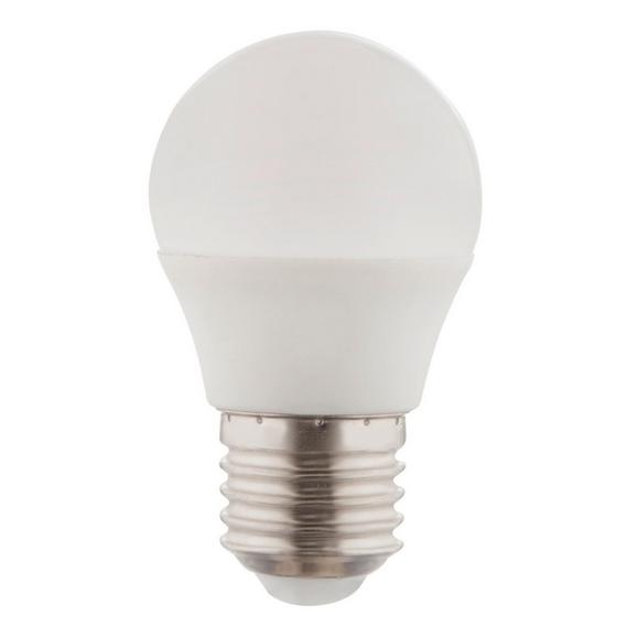 LED-Leuchtmittel 10562D, max. 5 Watt - Opal/Weiß, Kunststoff/Metall (4,5/7,8cm)