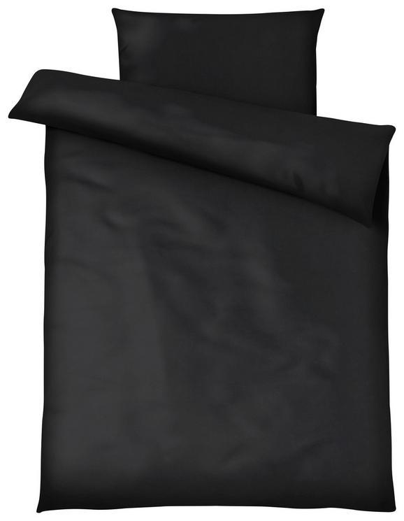Bettwäsche Blacky Schwarz 140x200cm - Schwarz, MODERN, Textil - Mömax modern living