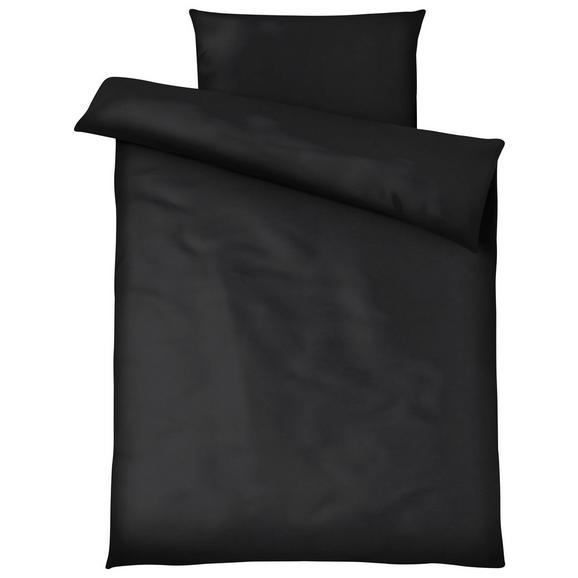 Posteljnina Blacky - črna, Moderno, tekstil - Mömax modern living