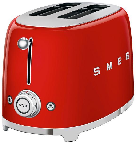 Toaster Smeg Tsf01rdeu Rot - Rot (31/19,8/19,5cm) - SMEG