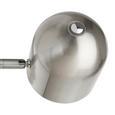 Stehleuchte Fokus 2-flammig - Nickelfarben, MODERN, Metall (32/23/140cm) - Bessagi Home