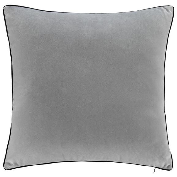 Kissen Valska ca.45x45cm in Hellgrau - Hellgrau, MODERN, Textil (45/45cm) - Mömax modern living