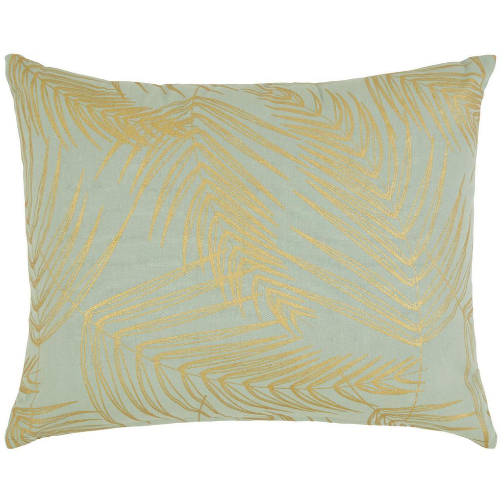 Zierkissen Laguna Hellgrün/gold 40x50cm