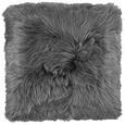 Pernă De Blană Hunter - antracit, textil (45/45cm) - Modern Living
