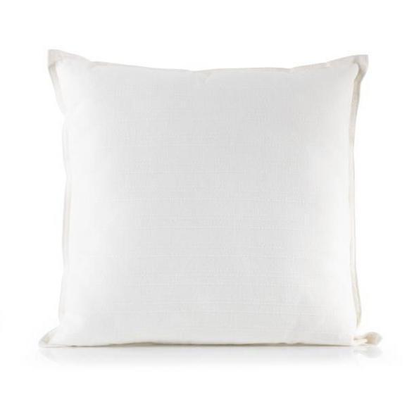 Zierkissen Solid One Weiß ca. 45x45cm - Naturfarben, Textil (45/45cm)