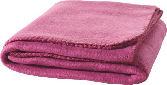 Fleecedecke Trendix Pink 130x180 cm - Pink, Textil (130/180cm) - Mömax modern living