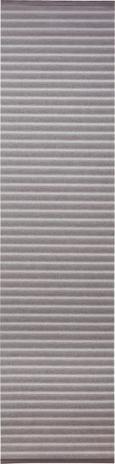 Flächenvorhang Flow, ca. 60x245cm - Weiß, MODERN, Textil (60/245cm) - Mömax modern living