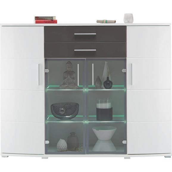 highboard in wei online kaufen m max. Black Bedroom Furniture Sets. Home Design Ideas