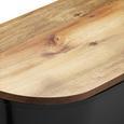 Echtwerk Brotbox Fresh mit Deckel - Schwarz/Akaziefarben, MODERN, Holz/Kunststoff (37/21,5/17,2cm) - Echtwerk