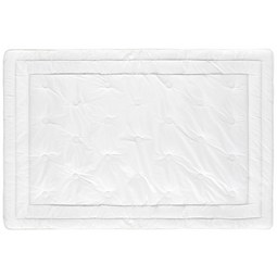 Einziehdecke Diamant ca. 135x200cm - Weiß, Textil (135/200cm) - Premium Living