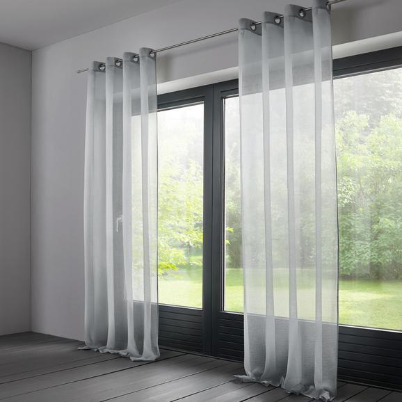 Store Ilianka ca. 140x245cm - Hellgrau, MODERN, Textil (140/245cm) - Mömax modern living