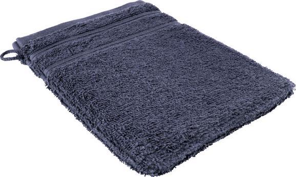 Waschhandschuh Melanie in Blau - Blau, Textil (16/21cm) - Mömax modern living