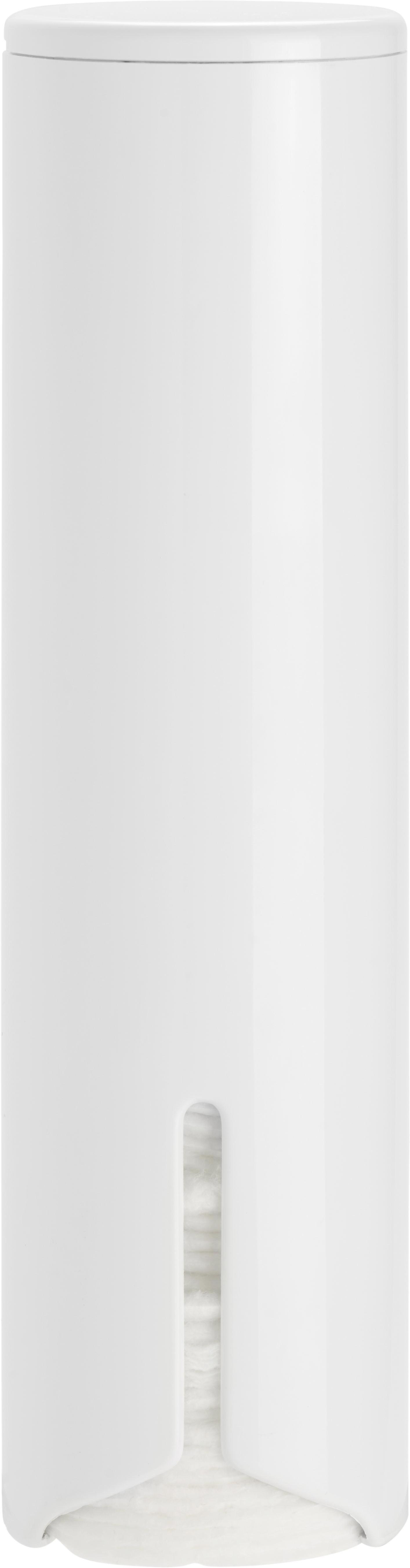 Wattedose Fm in Weiß - Weiß, Kunststoff (6,5/24/6,5cm) - MÖMAX modern living