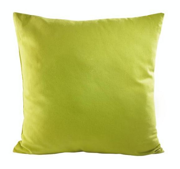 Díszpárna Zippmex - Zöld, Textil (50/50cm) - Based