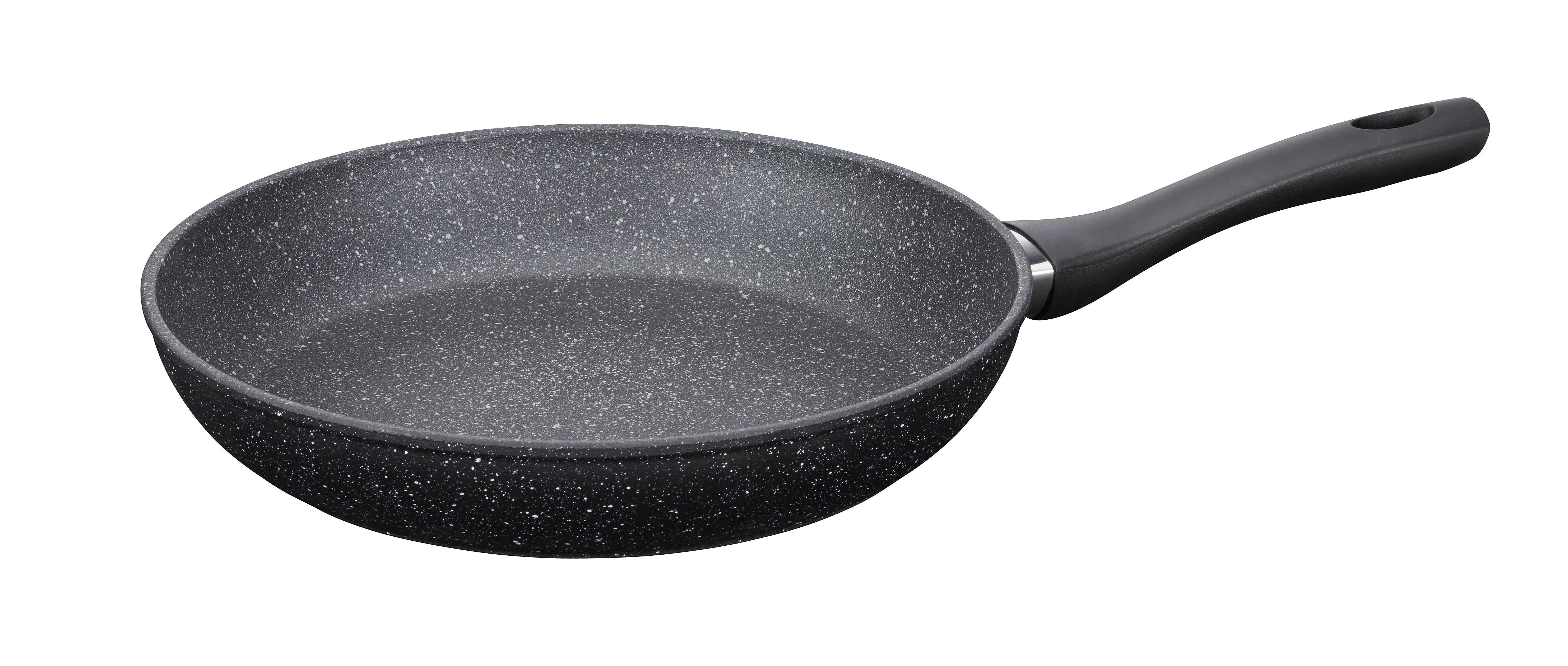 Serpenyő Tosca - fekete/nemesacél színű, konvencionális, műanyag/fém (28/5,3cm) - ZANDIARA