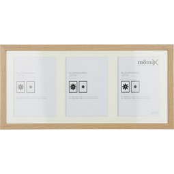 Bilderrahmen Gitta, ca. 23x50cm - Eichefarben, Glas/Holz (50/23/3,6cm) - Mömax modern living