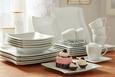 Kombinirani Servis Katja - bela, keramika - Premium Living