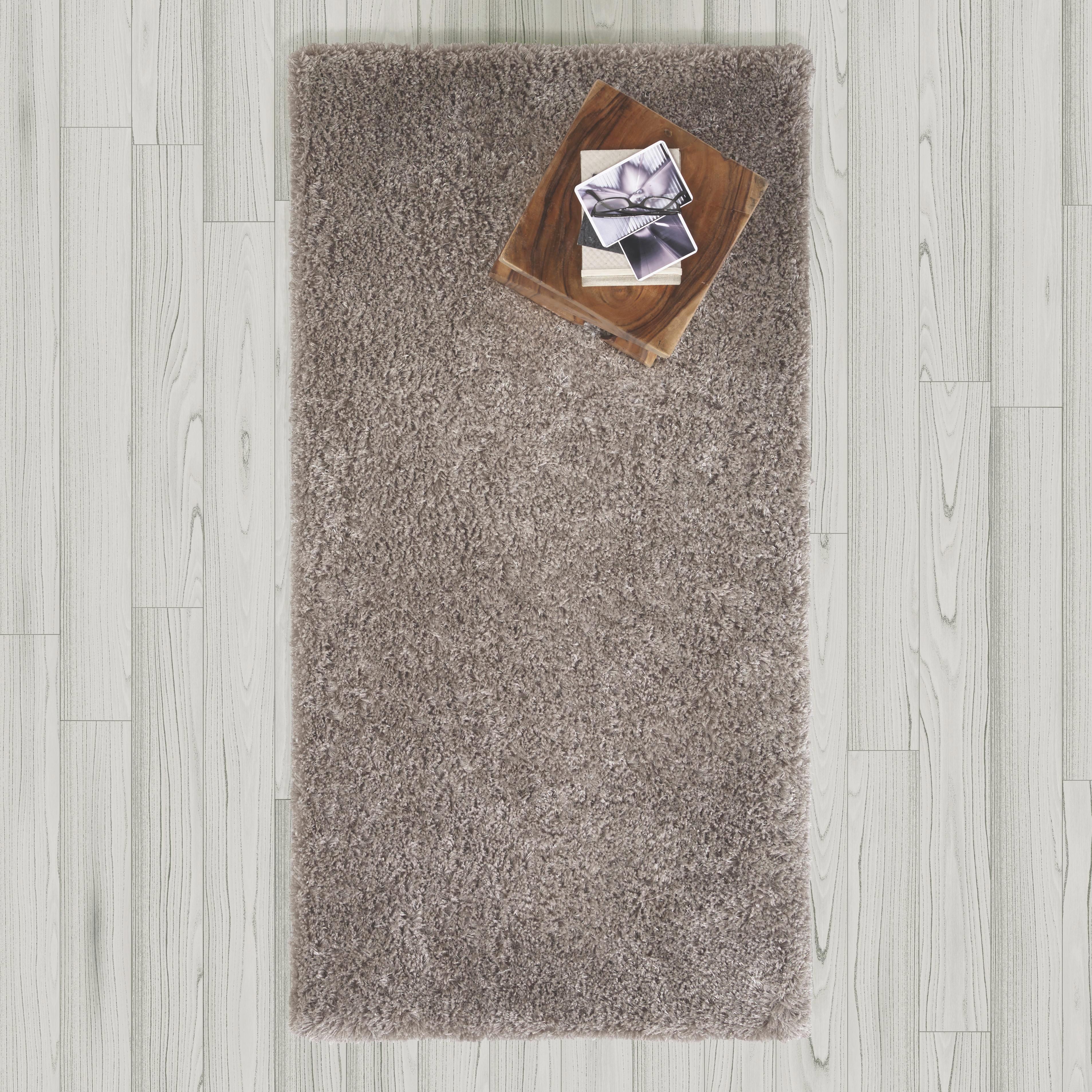 Hochflorteppich Shaggy 80x150cm - Grau, MODERN, Textil (80/150cm) - MÖMAX modern living