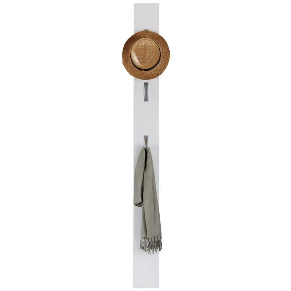 Garderobenleiste Weiß - Weiß, MODERN, Holzwerkstoff (15/170/3cm)