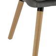 Armlehnstuhl Tristan - Buchefarben/Hellgrau, MODERN, Holz/Textil (63/83/60cm) - MÖMAX modern living