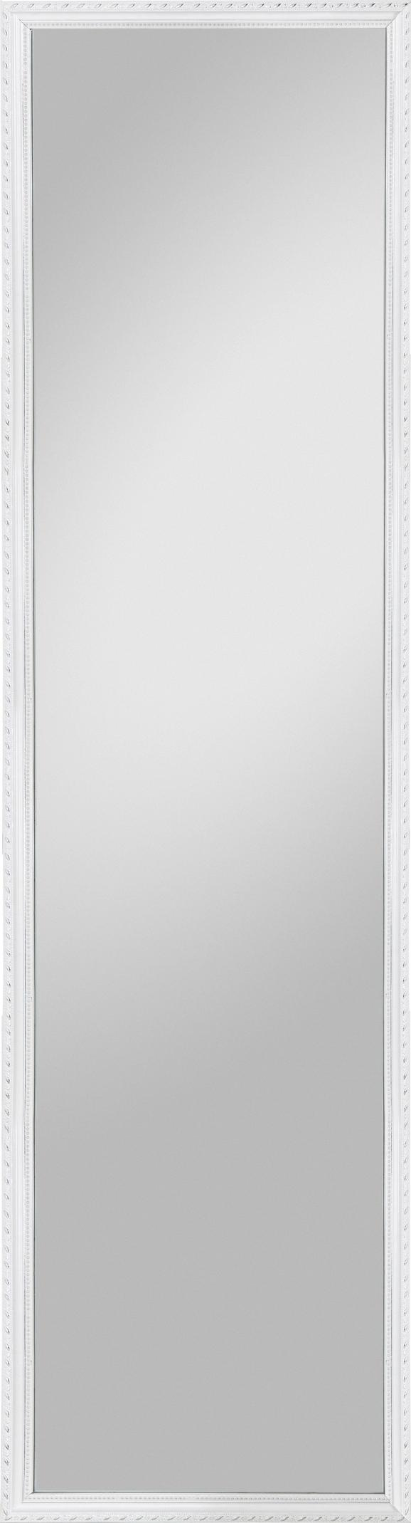 Wandspiegel Weiß - Weiß, LIFESTYLE, Glas/Holz (30/120/2,3cm) - Mömax modern living