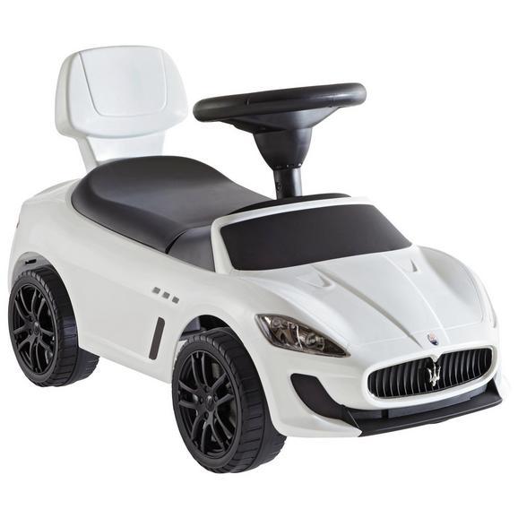Lábbal Hajtható Kisautó Maserati Gran-cabrio - Fehér, Műanyag/Fém (68,3/30,6/39,5cm)