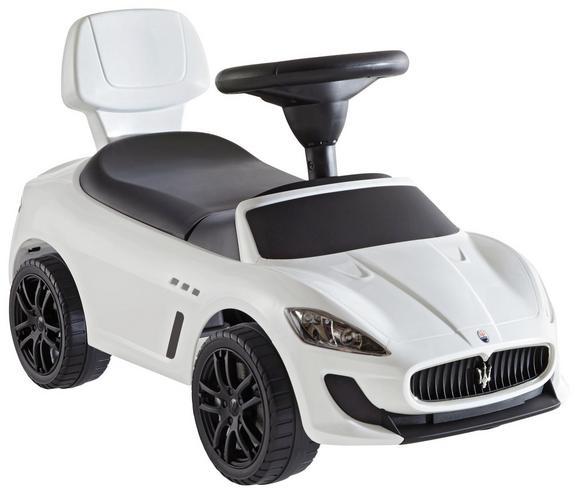 Poganjalec Maserati Gran-cabrio Mc -ext- - bela, kovina/umetna masa (68,3/30,6/39,5cm)
