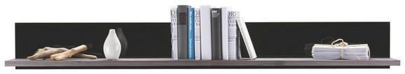 Wandboard in Grau - MODERN, Holzwerkstoff (160/20/25cm) - Premium Living
