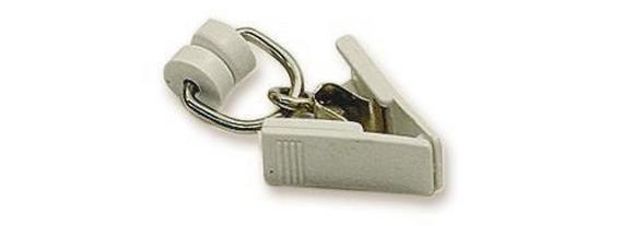 Görgő T-sínhez T-sínhez 115 - fehér, műanyag