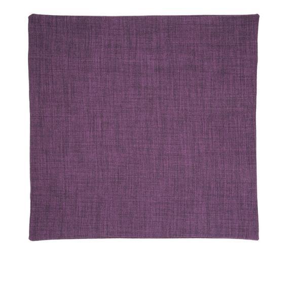 Párnahuzat Leinenoptik - Padlizsán, konvencionális, Textil (50/50cm) - Premium Living