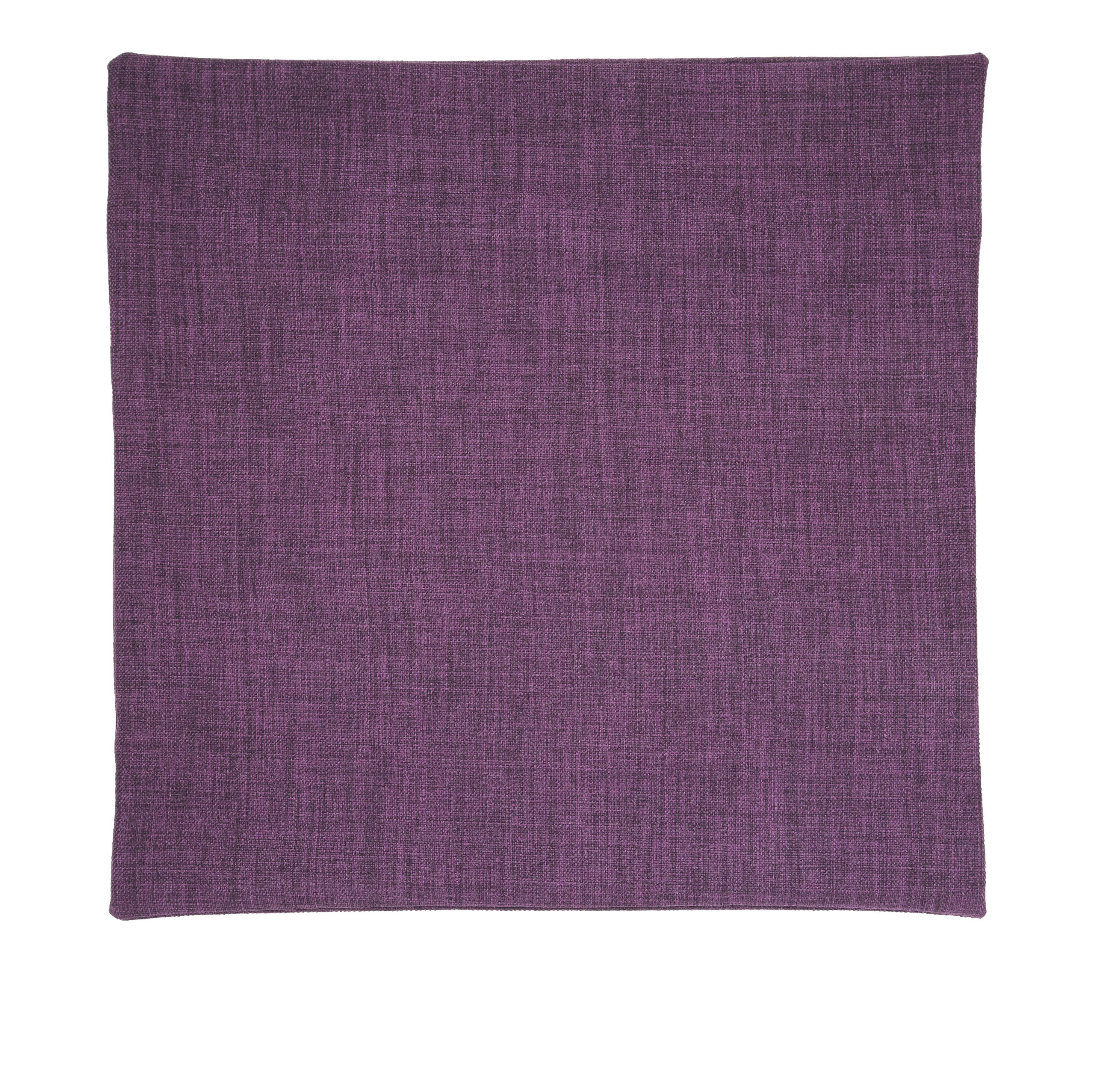 Párnahuzat Padlizsán - padlizsán, konvencionális, textil (50/50cm) - premium living