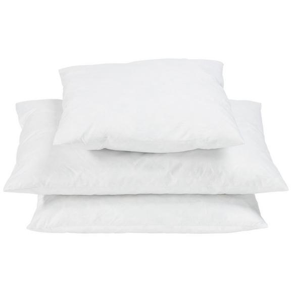 Pernă Fride - alb, textil (40/40cm) - Modern Living