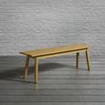Bank Timo - Pinienfarben, MODERN, Holz (149/46/35cm) - Modern Living