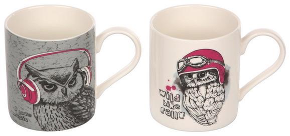 Skodelica Owl - večbarvno, keramika (0,35l)