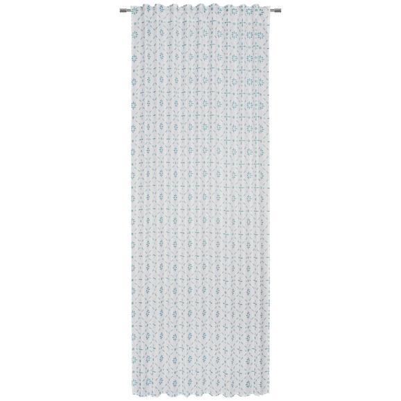 Kombivorhang Venice in Mintgrün - Mintgrün, Textil (140/245cm) - Mömax modern living