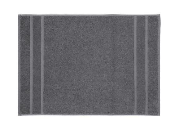 Badematte Melanie Anthrazit - Anthrazit, Textil (50/70cm) - Mömax modern living