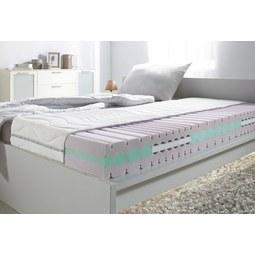Komfortschaummatratze ca. 160x200cm - Weiß, Textil (160/200cm) - Nadana