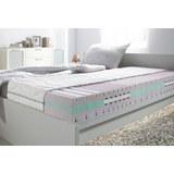 Komfortschaummatratze ca. 80x200cm - Weiß, Textil (80/200cm) - Nadana