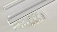 Klemmrollo Klemm Light, ca. 90x210cm - Weiß, MODERN, Textil/Metall (90/210cm) - Mömax modern living