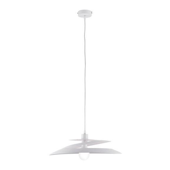 Pendelleuchte Angelo - Weiß, MODERN, Metall (48/113cm) - Bessagi Home
