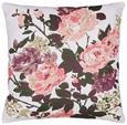 Zierkissen Rosamunde Bunt 45x45cm - Multicolor, ROMANTIK / LANDHAUS, Textil (45/45cm) - Mömax modern living